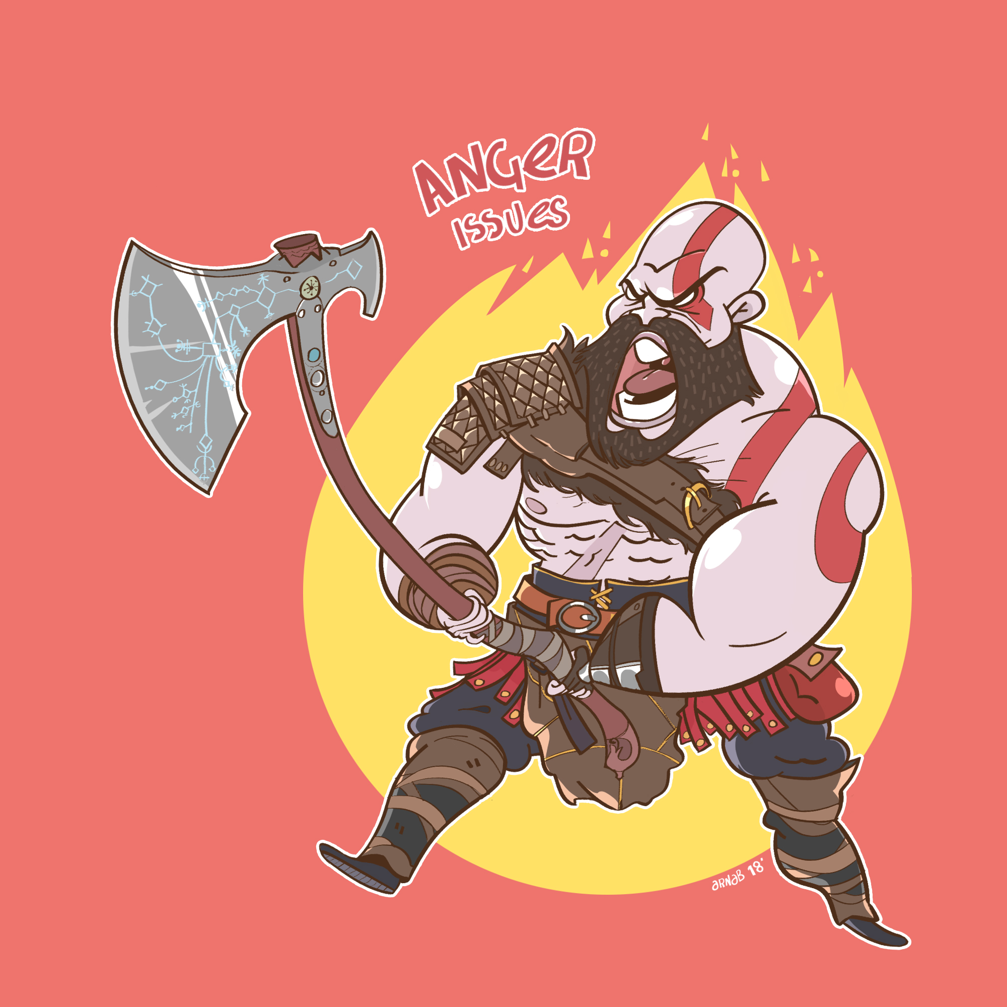 Anger Issues_God of War