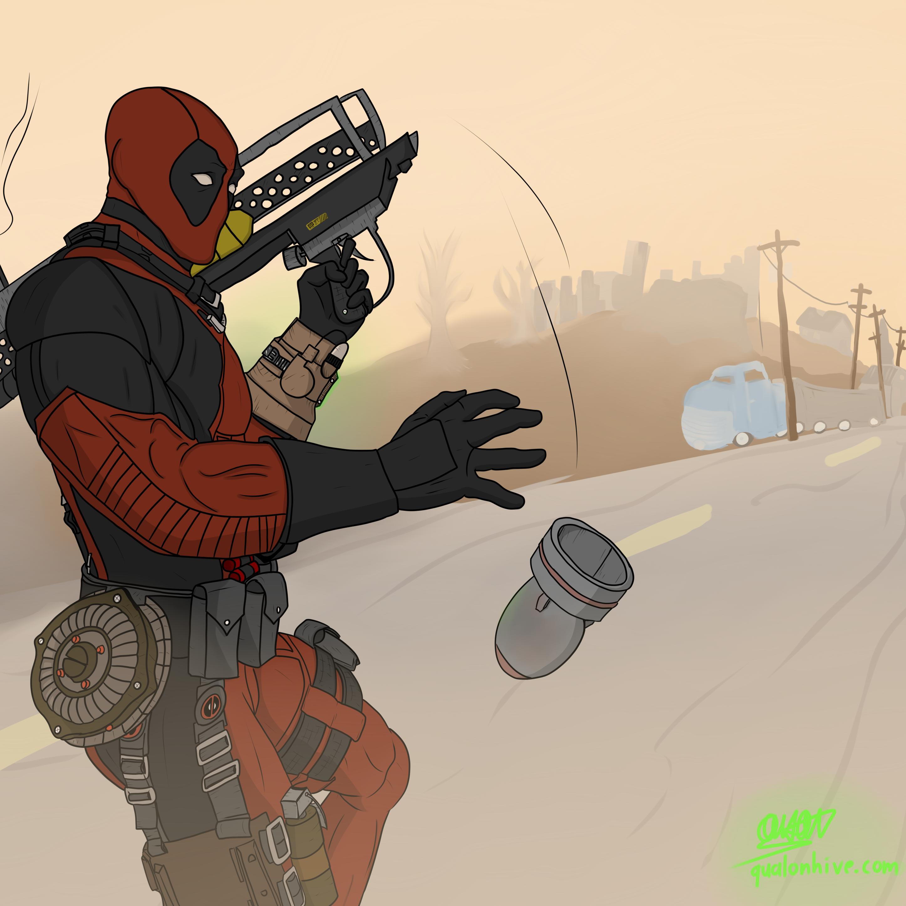 Deadpool Fallout76