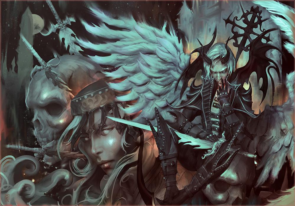 Angel Winged Demon