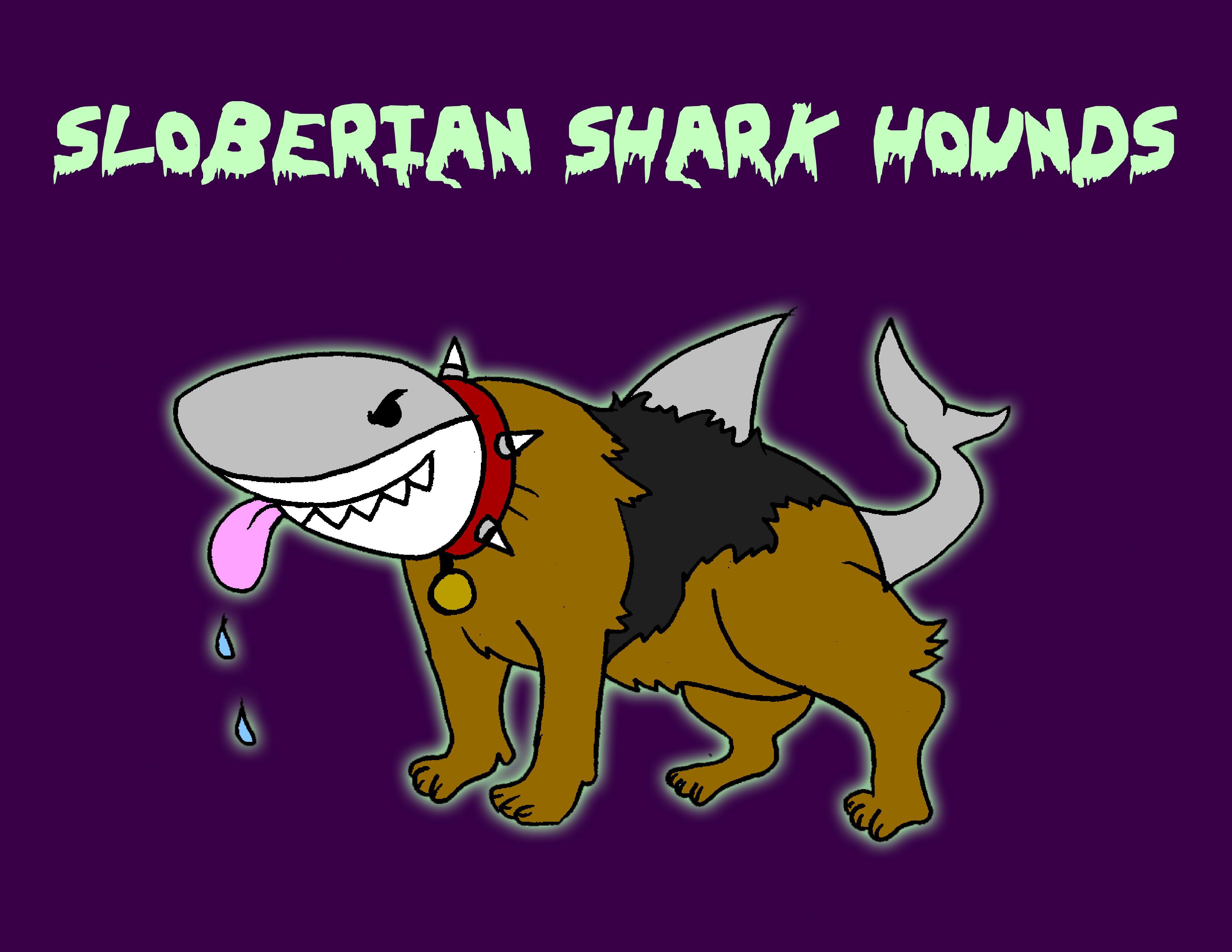 Sloberian Shark Hounds Concept Art