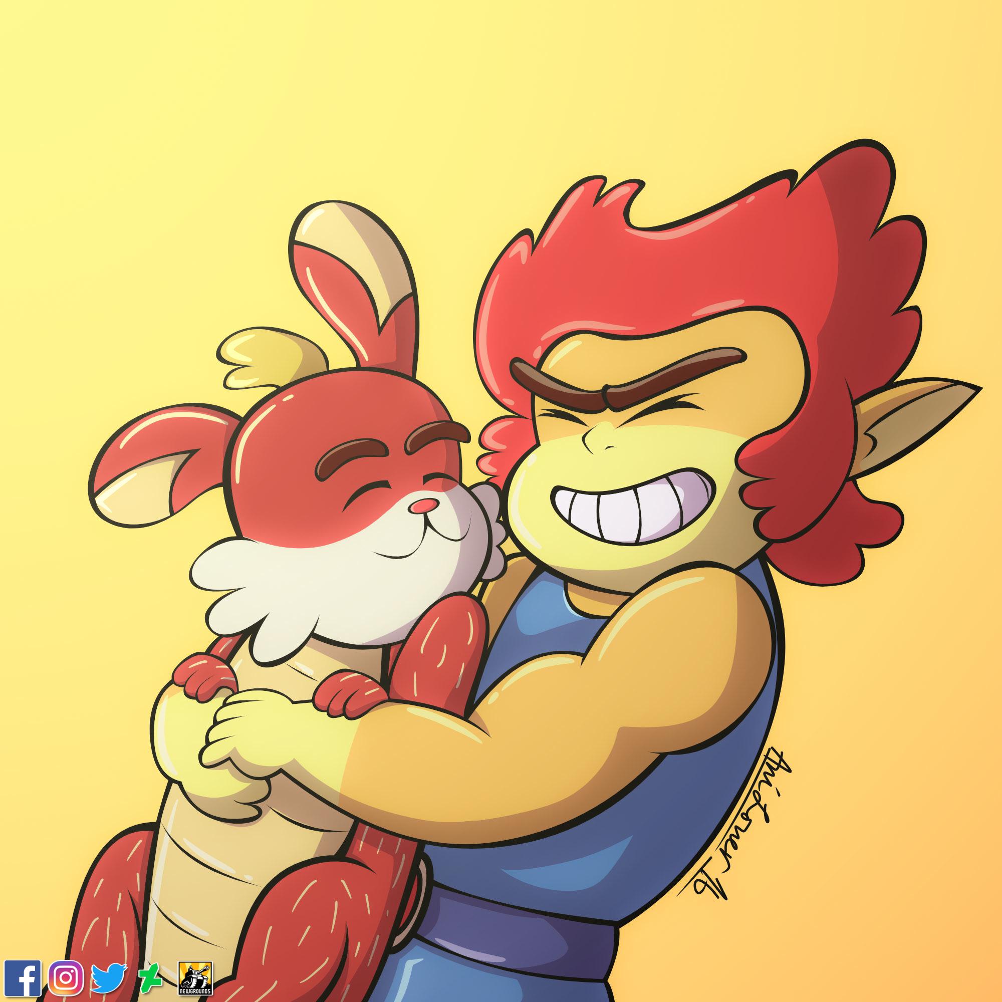 Hug - Lion-O and Snarf