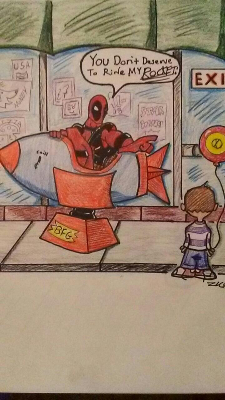 Deadpool's ride.