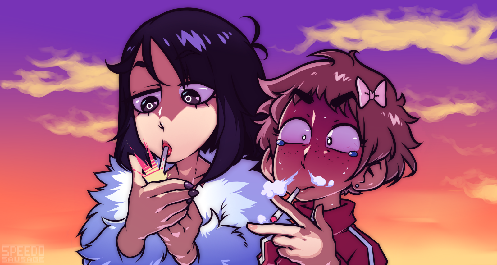 You smoke, right?