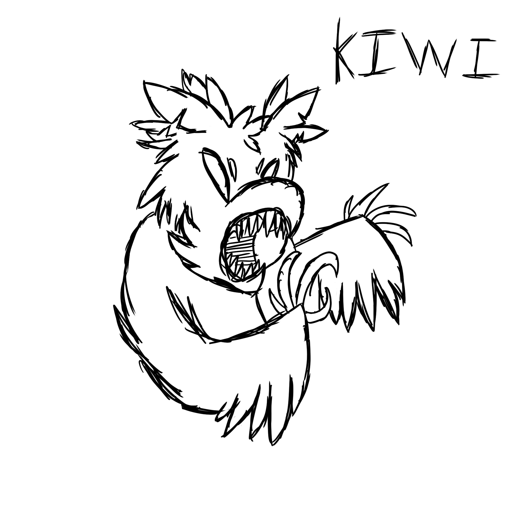 The Deadly Kiwi Bird By Neverexusleft On Newgrounds