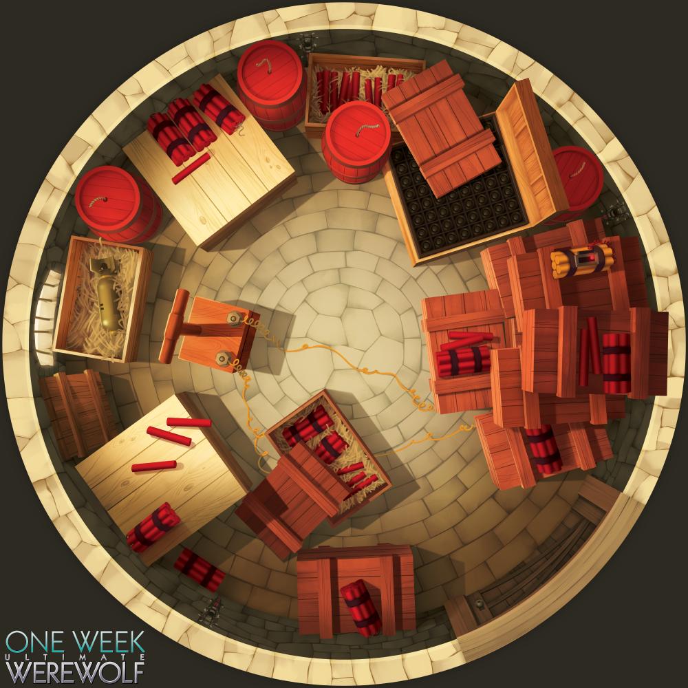 Dynamite Room - One Week Ultimate Werewolf