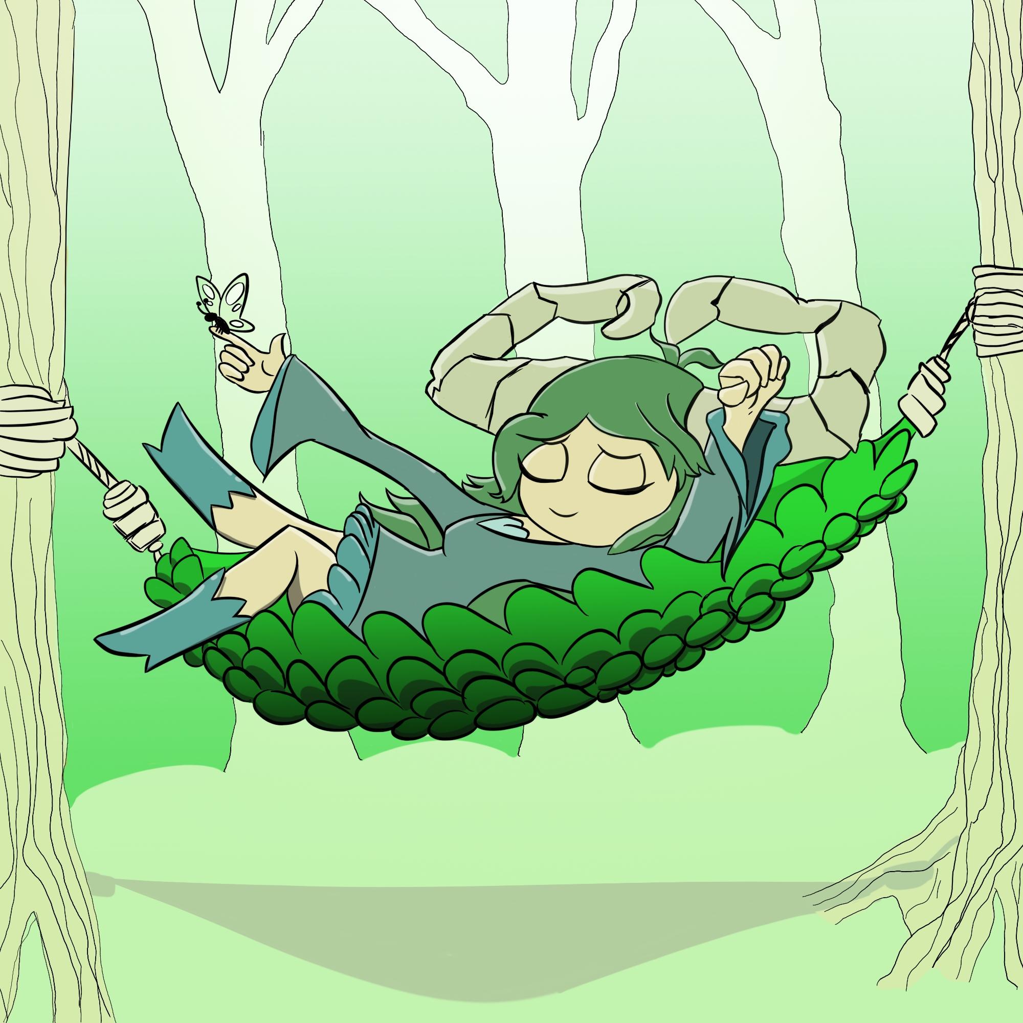 OC Request - Leaf The Grass Dragon