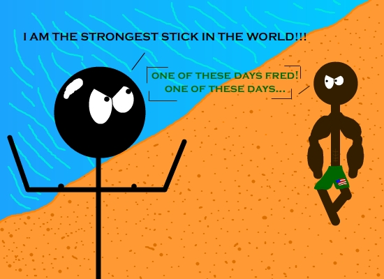 THE STRONGEST!