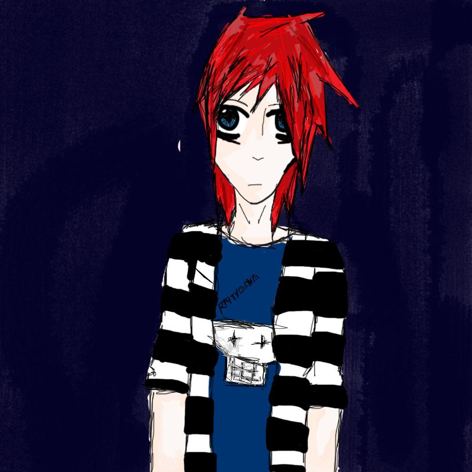 manga portrait
