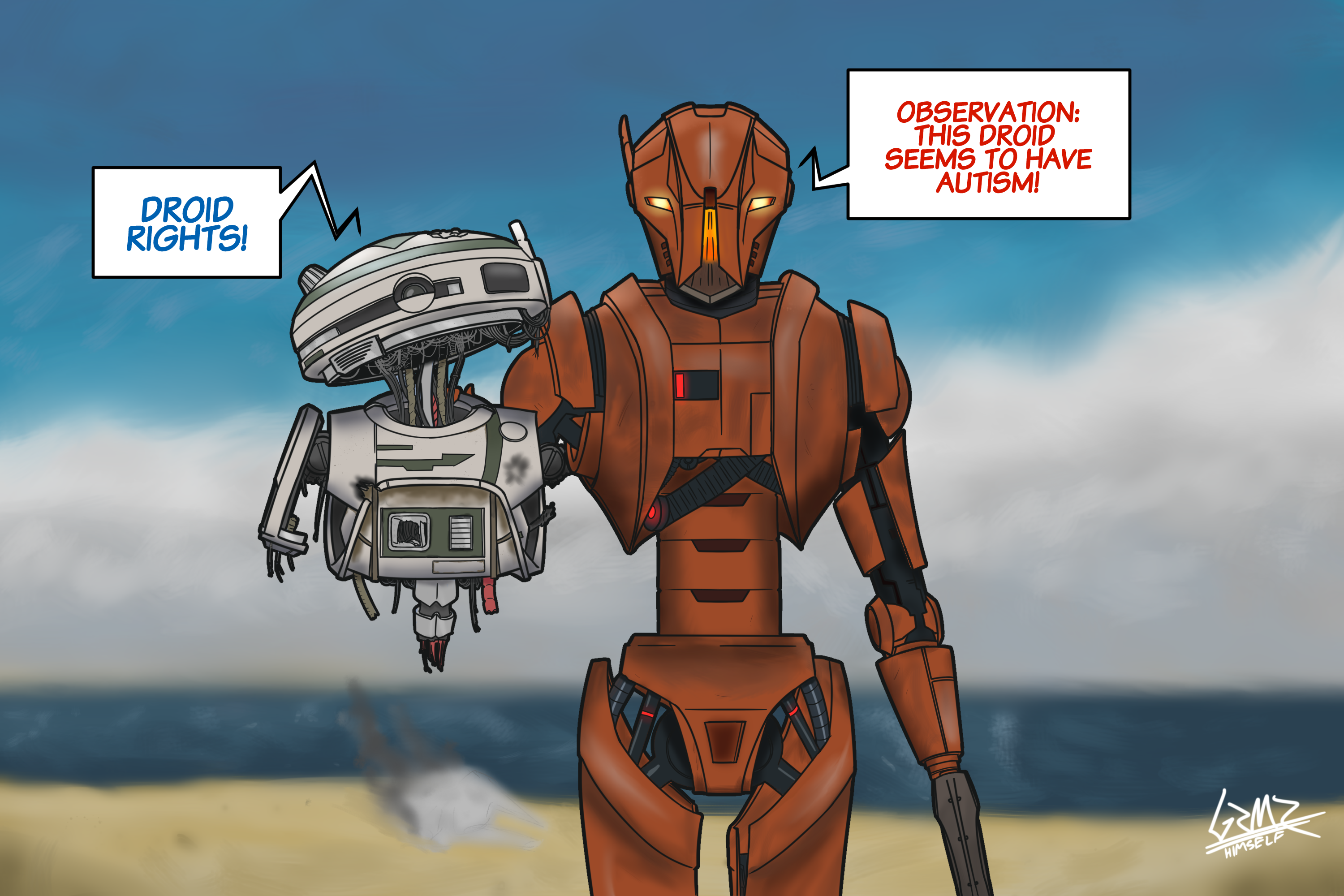 Droid rights!