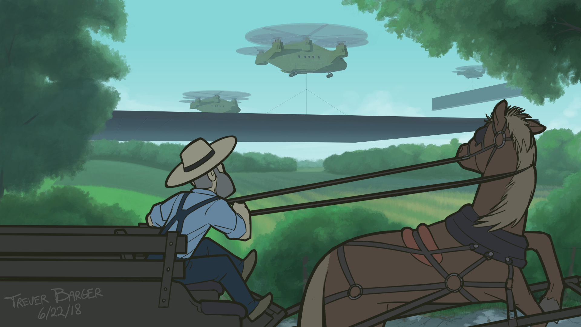 Vikings of the Interstate: Page 04 Amish