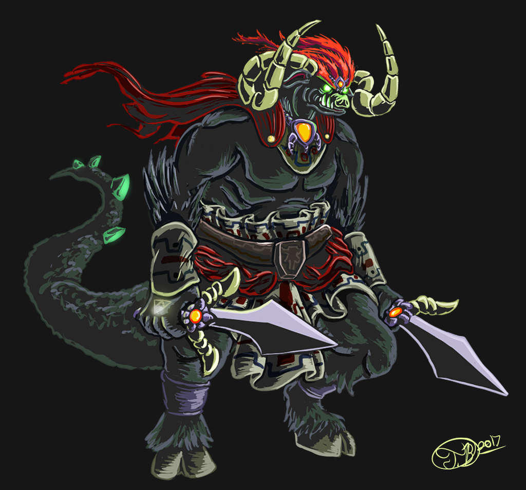 Ganon Ocarina Of Time By Griffinflash On Newgrounds