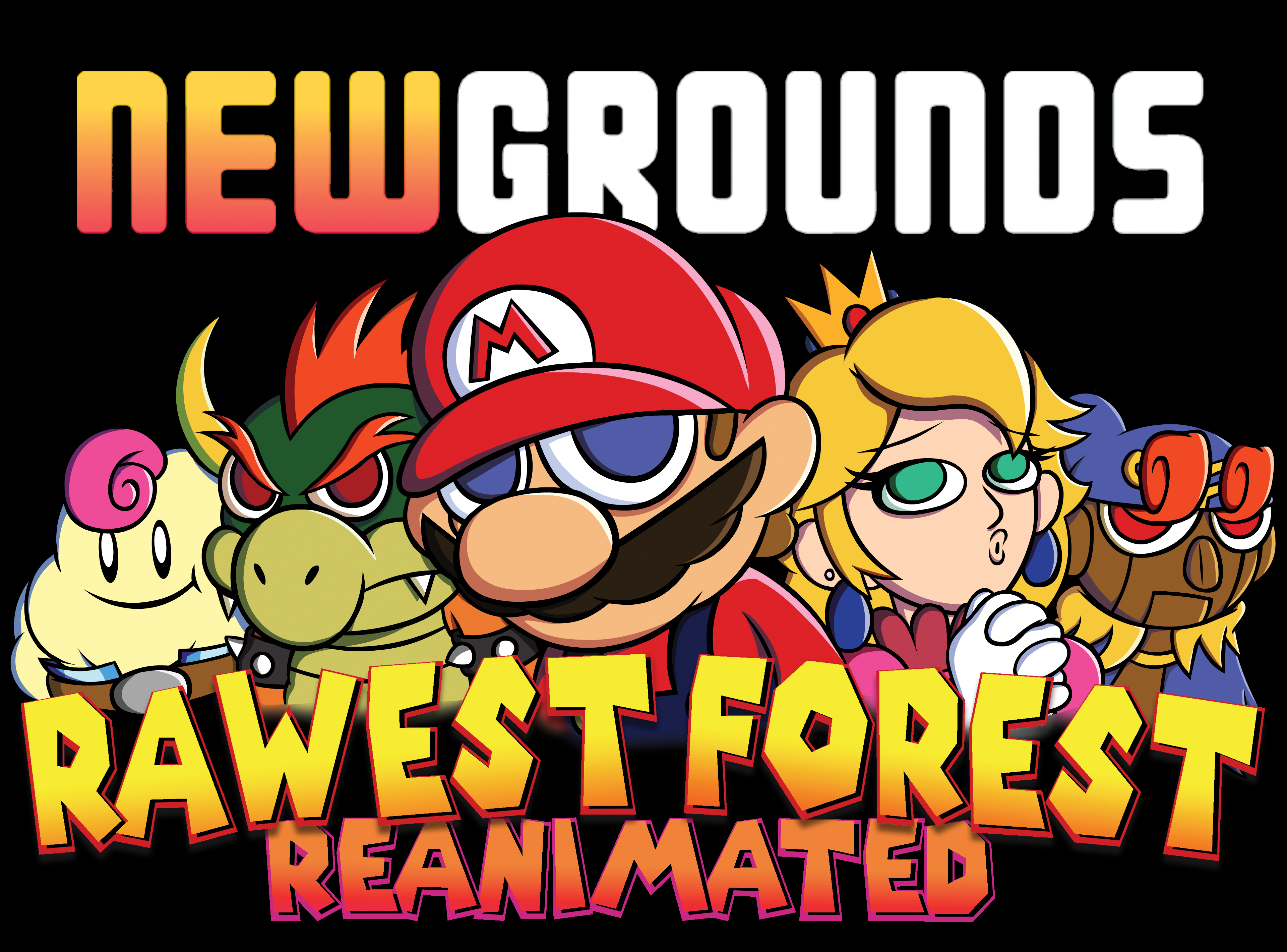 Rawest Forest Reanimated Collab Logo