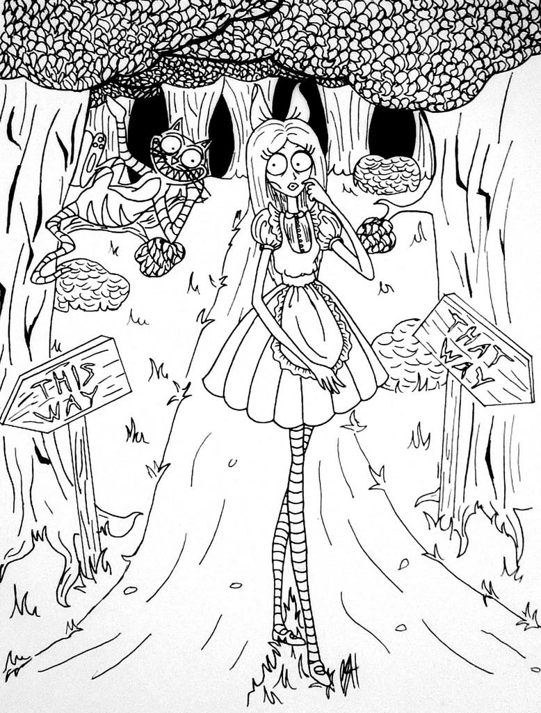 Tim Burton Style Alice