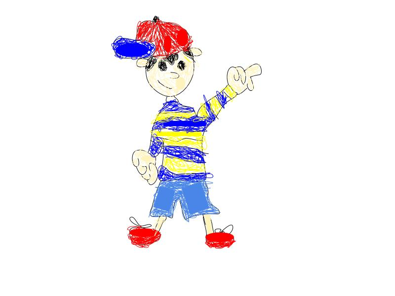Ness (Earthbound) All Rights Reserved to Nintendo/Ape.inc/Hal Laboratory 1994