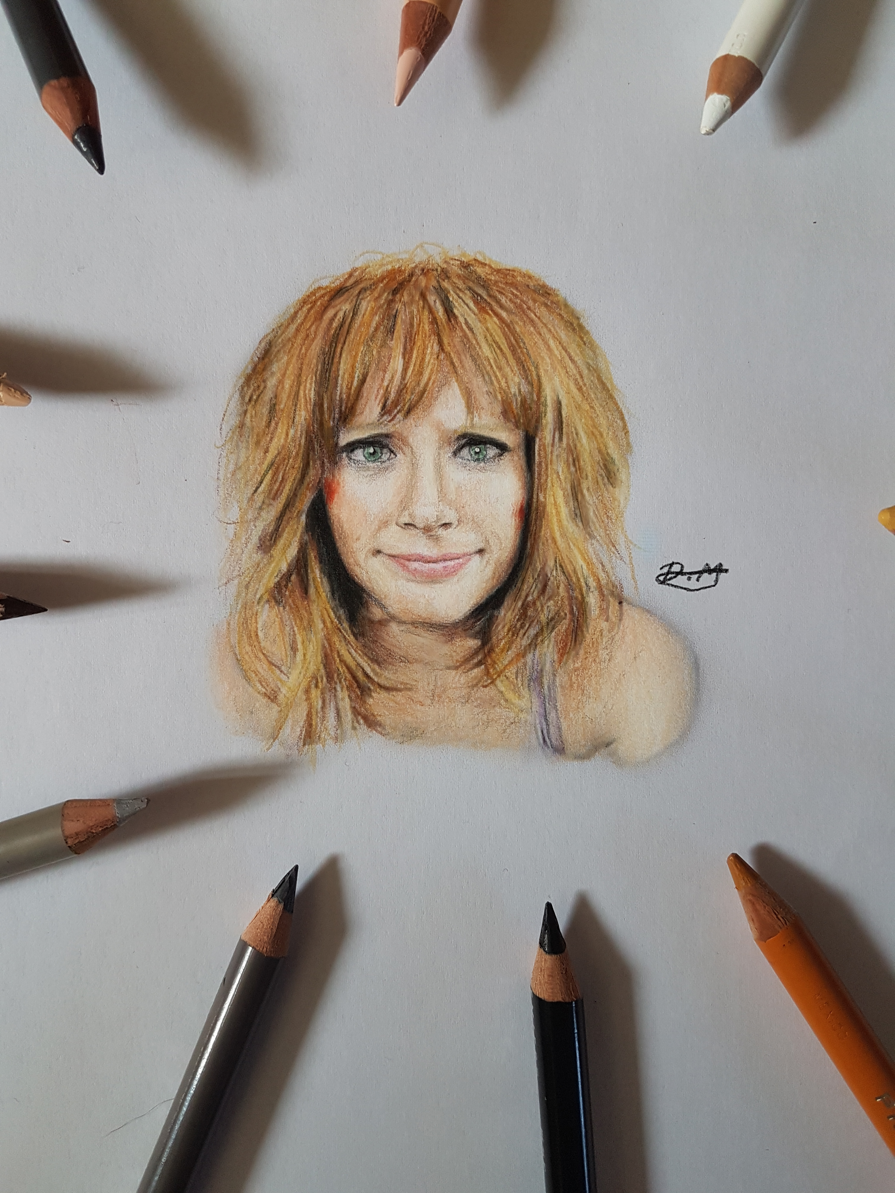 Bryce Dallas Howard Miniature Portrait By Damrock On Newgrounds Your recent projects include jurassic world: bryce dallas howard miniature portrait