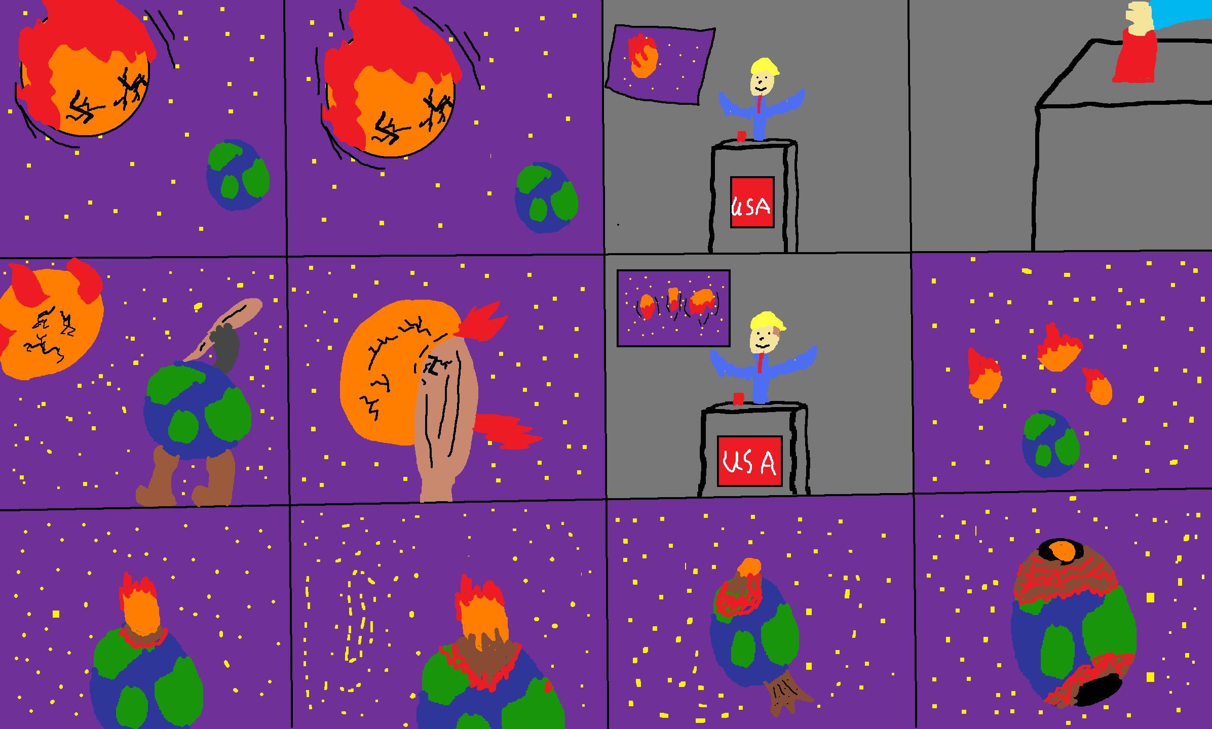 Planet X (Or Planet Niburu) Vs Earth (Or flat Earth)