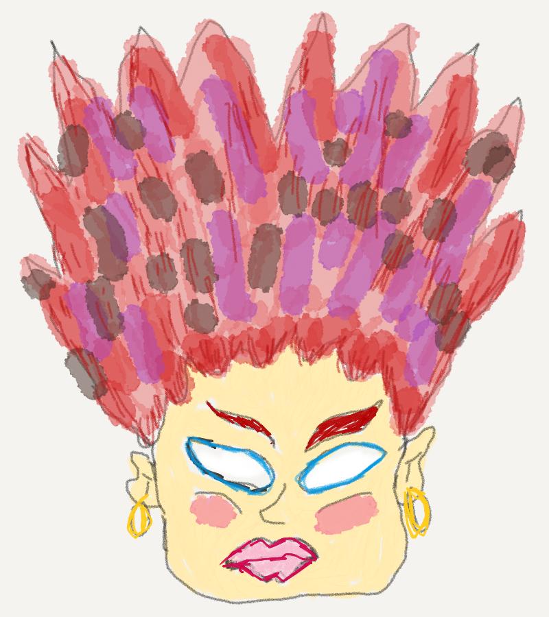 Cozzalite Volcanic Hair