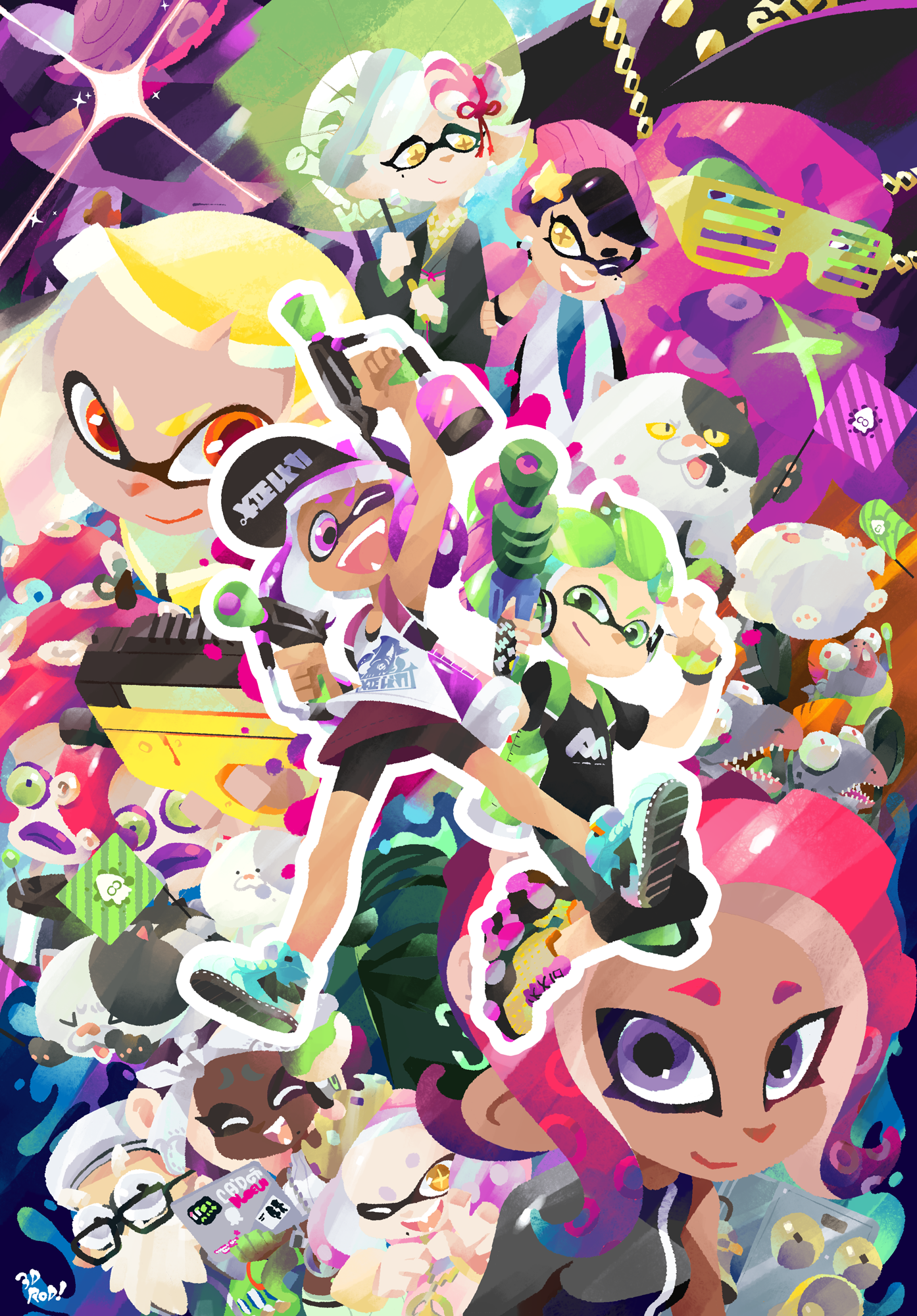 Splatoon 2 One Year Anniversary
