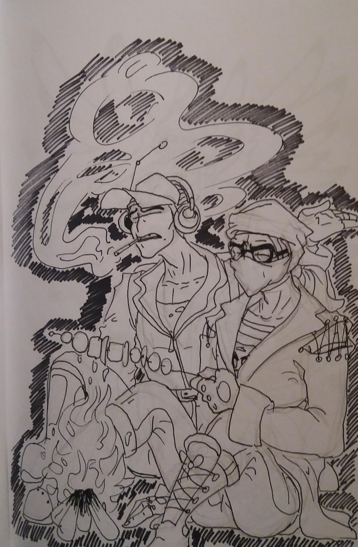Hank and Deimos