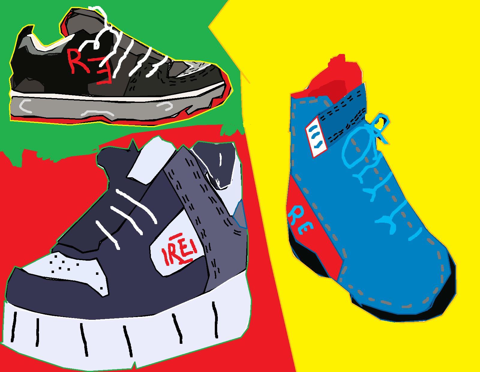 Redeyes shoes set 1
