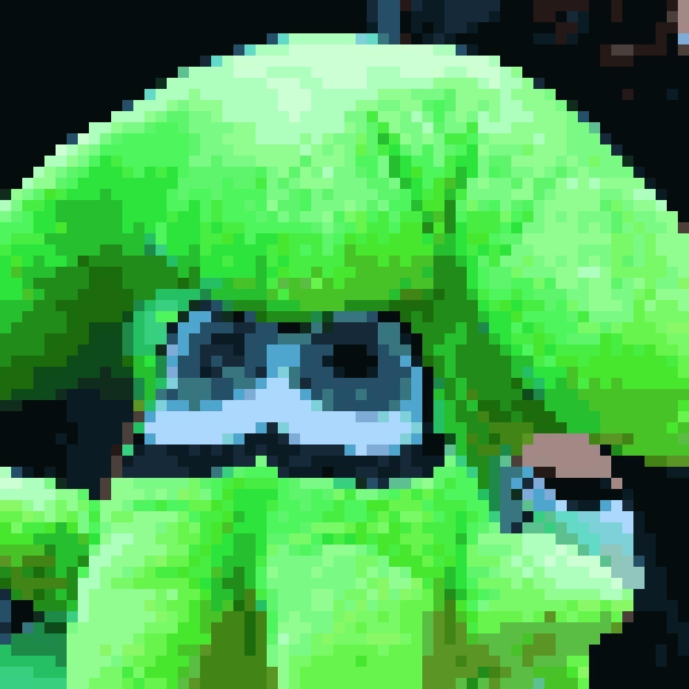 Splatoon Squid Pixel Art By Griffenclaw On Newgrounds