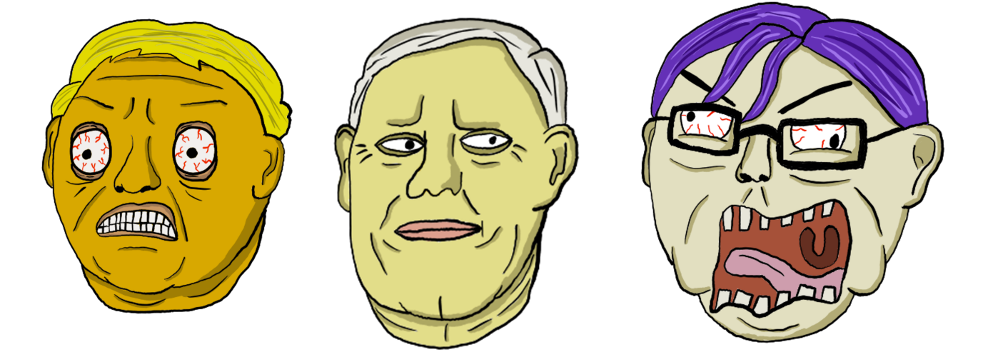 Trump, Mike Pence, and a typical SJW
