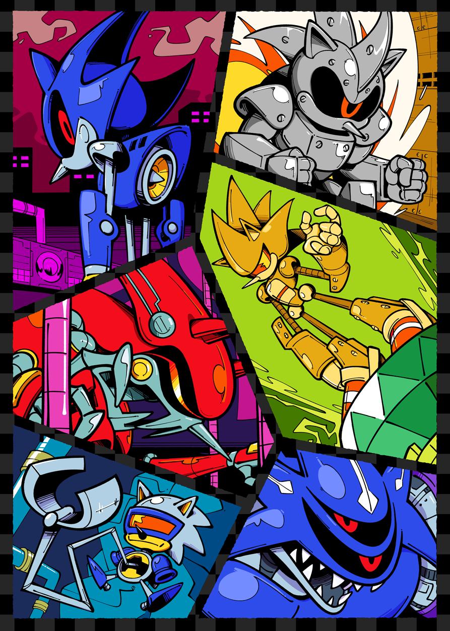 Metal Sonic Mania