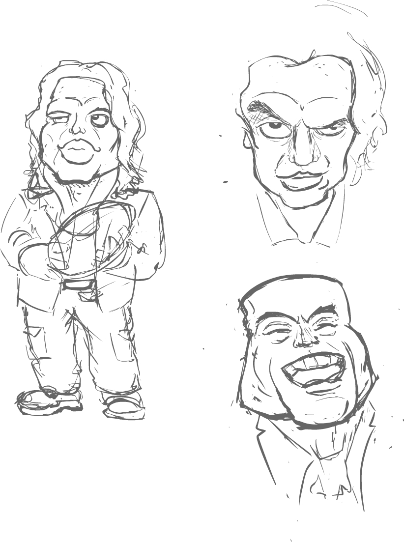 Tommy Wiseau Sketches