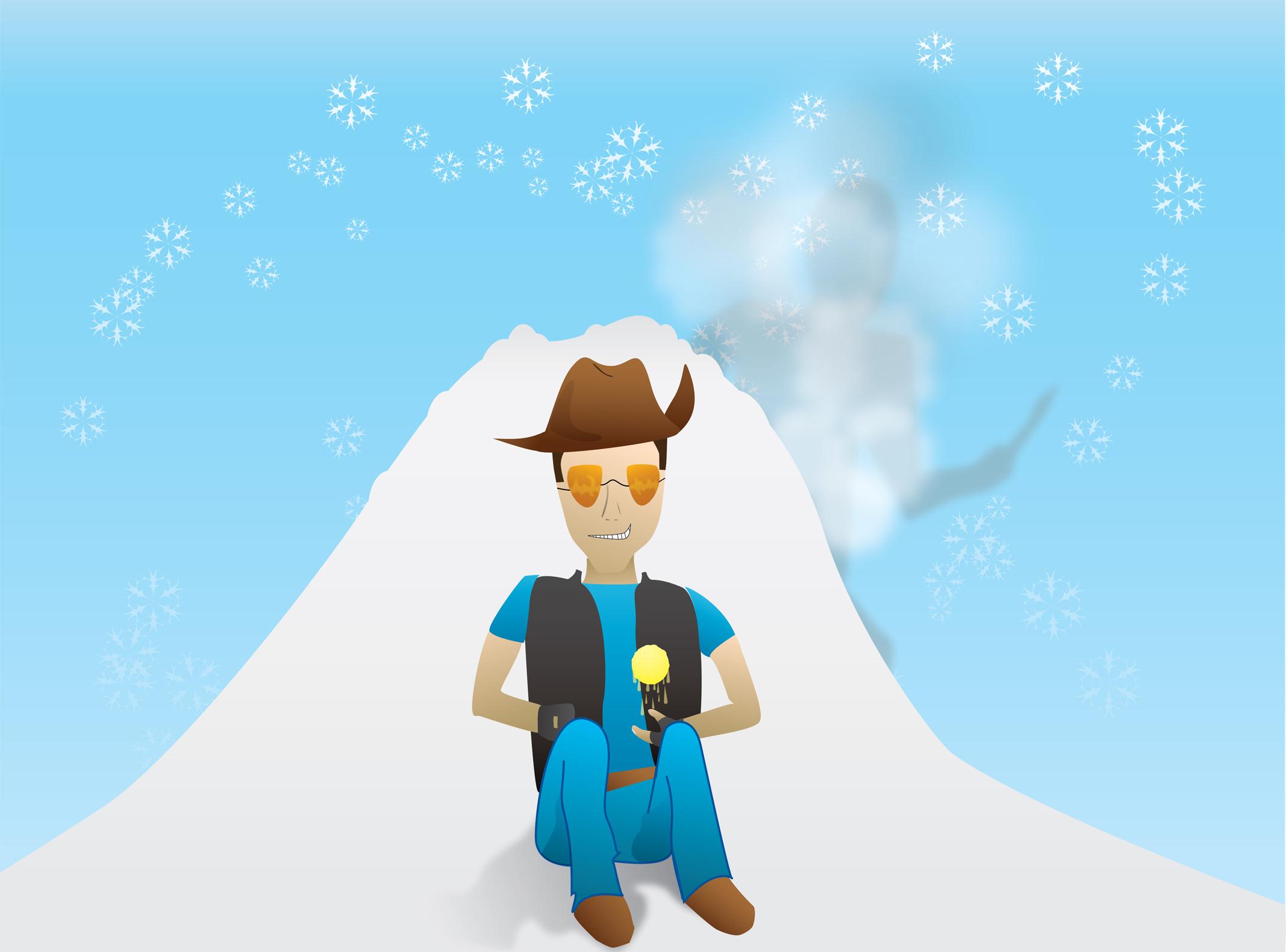 Sniper vs. Spy in winter