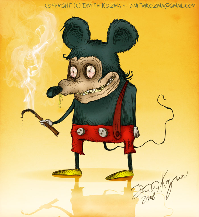 Freaky Mickey Mouse Junkie