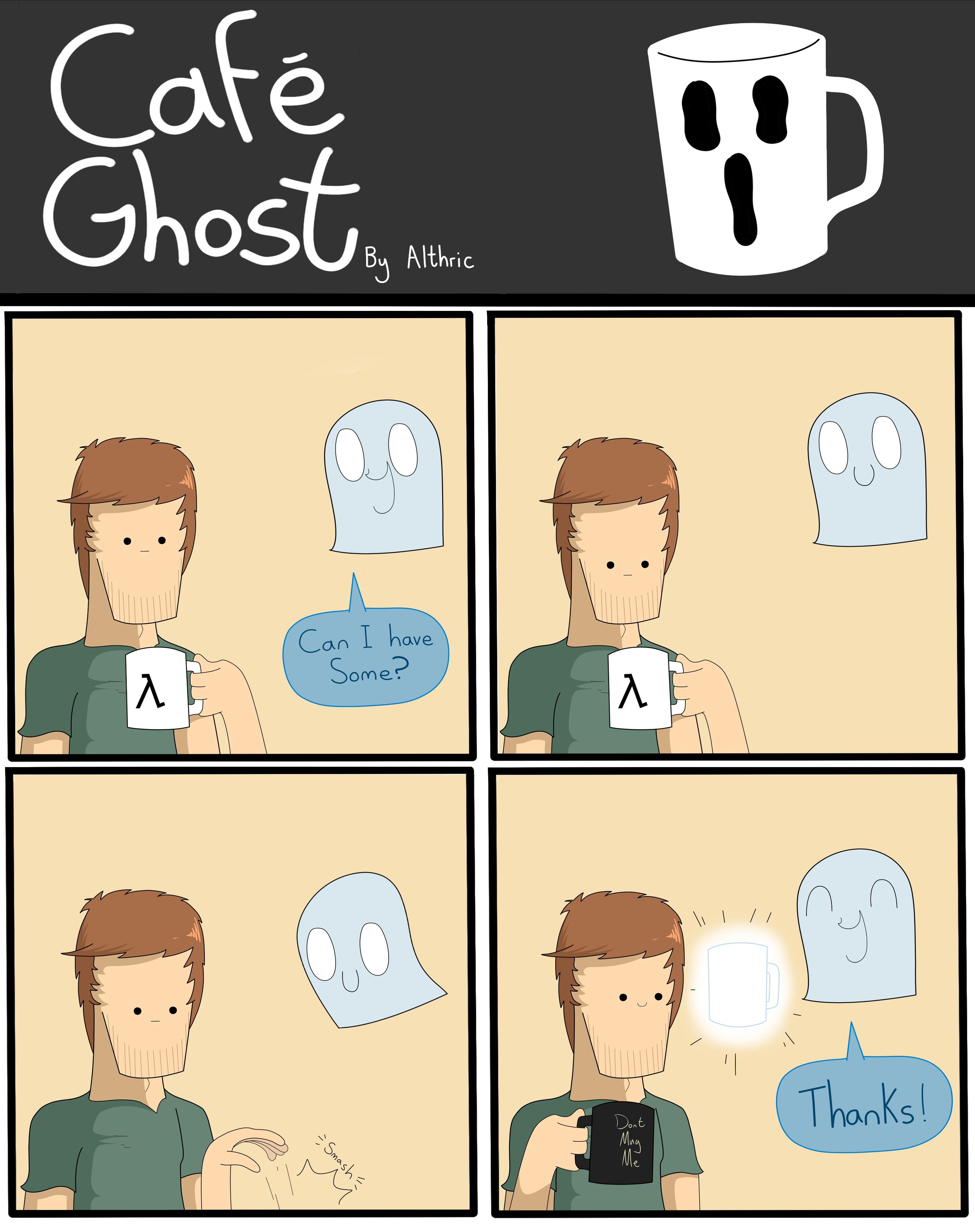 Cafe Ghost - Break Time