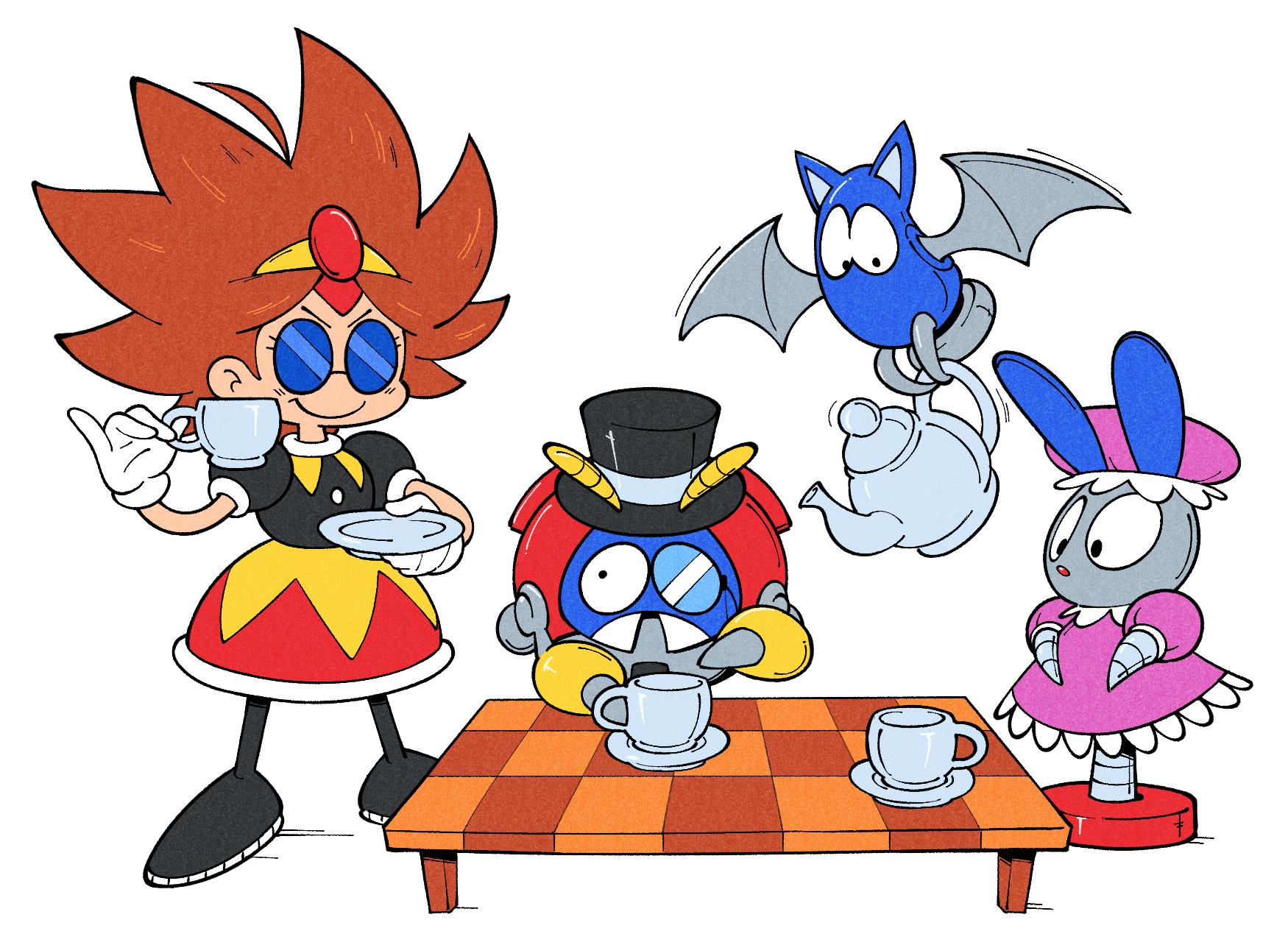 Eggette's Tea Party