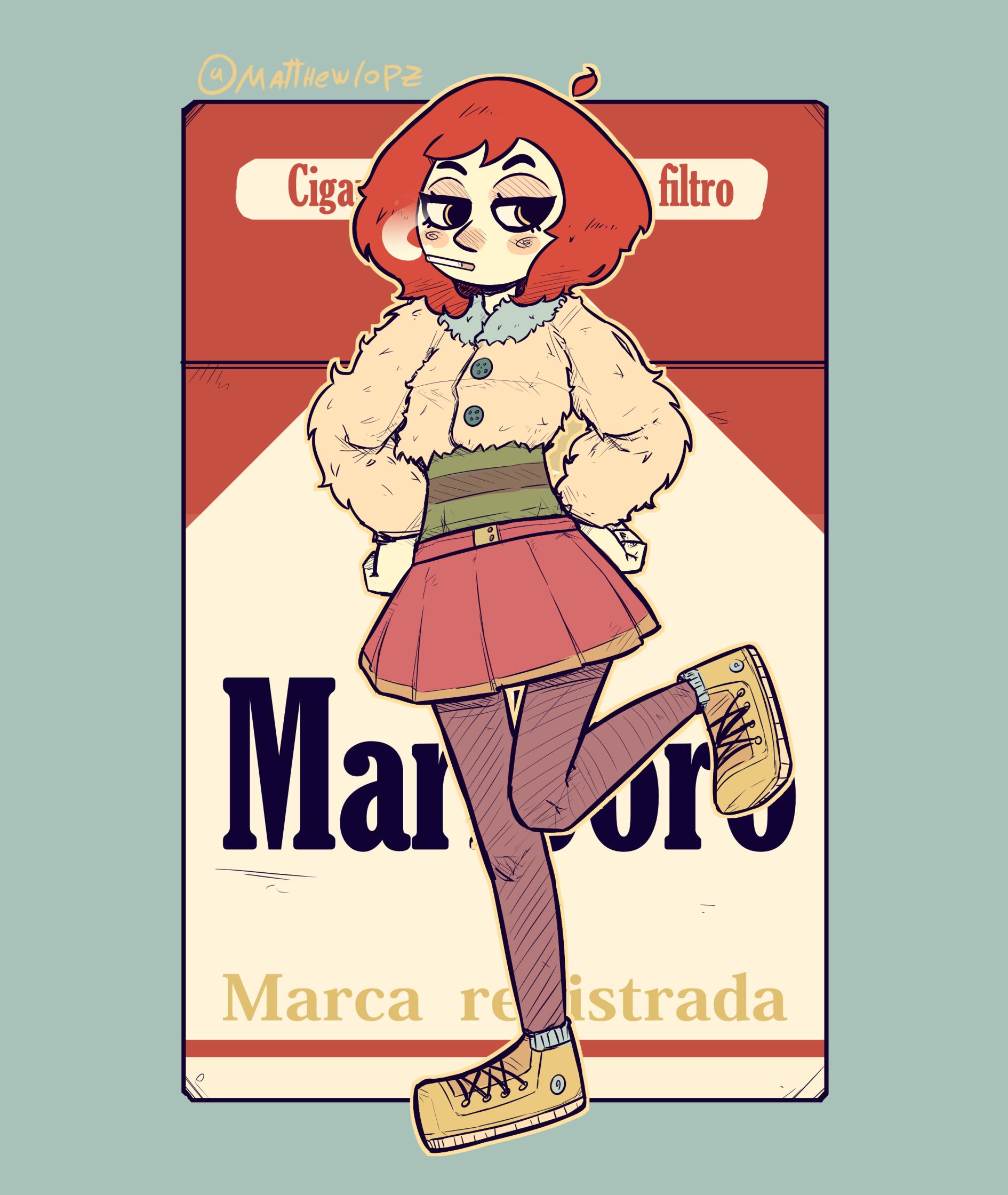 Marlboro Red Girl