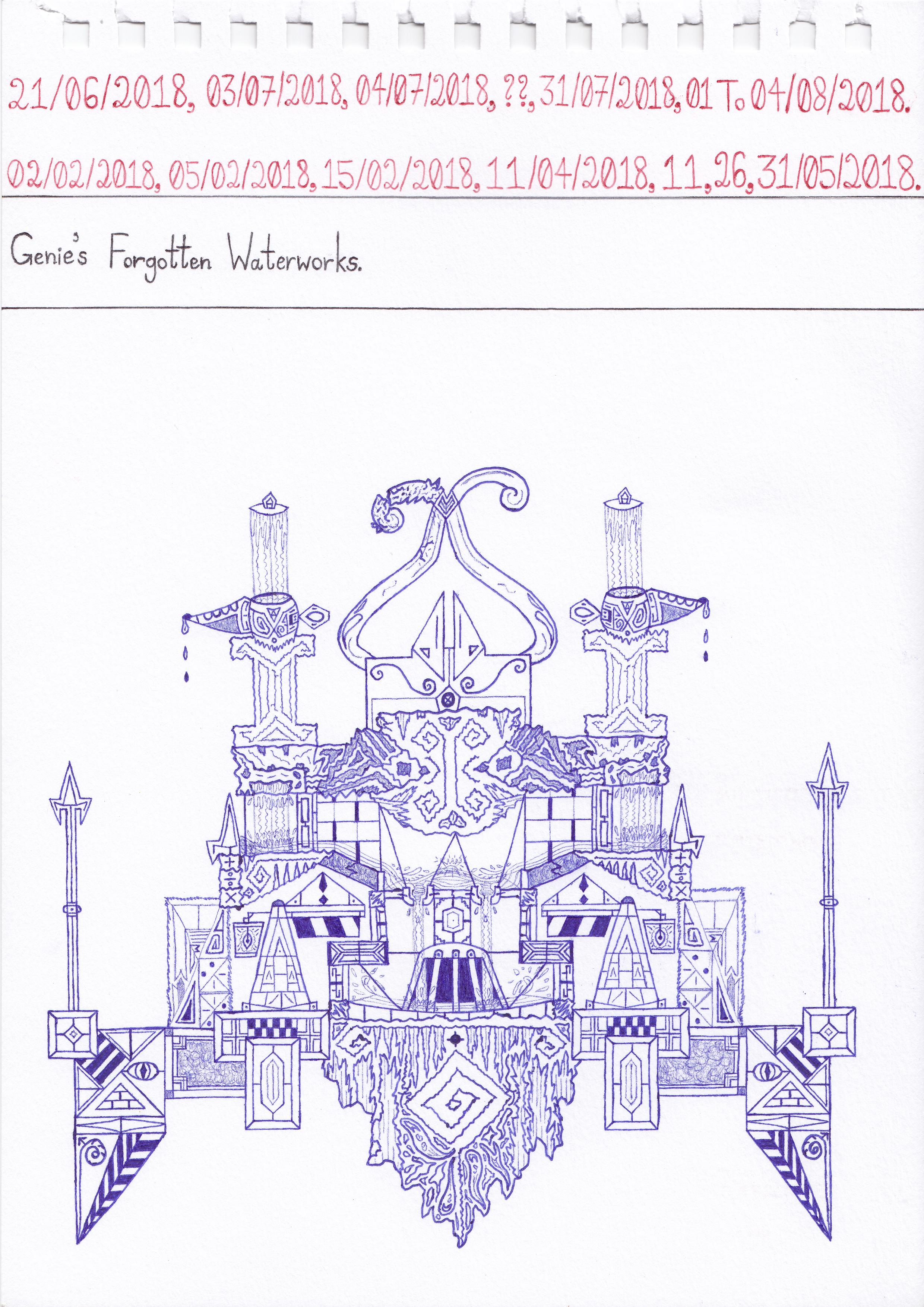 Genie's Forgotten Waterworks.