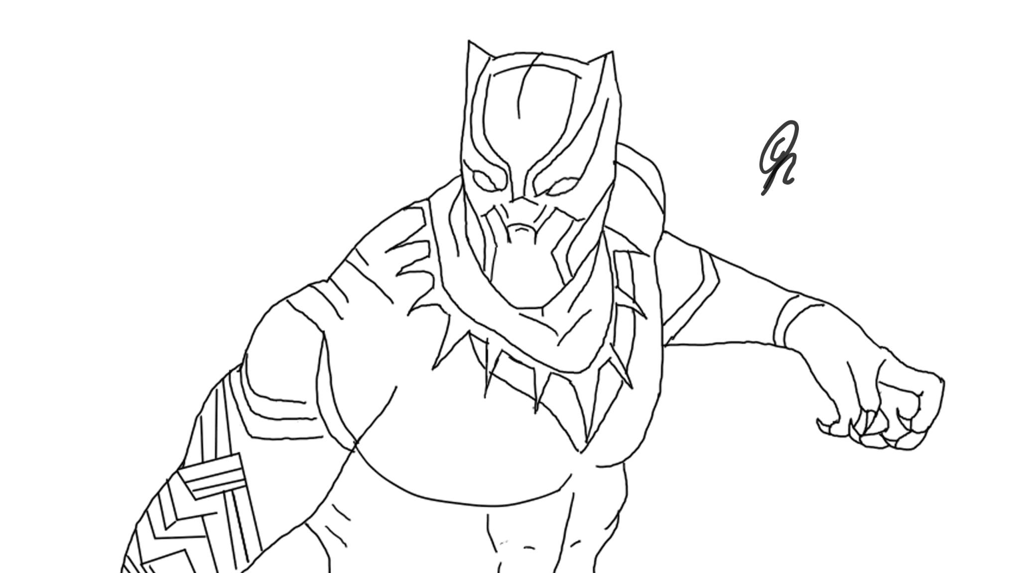 Black Panther By GS-Drawings On Newgrounds