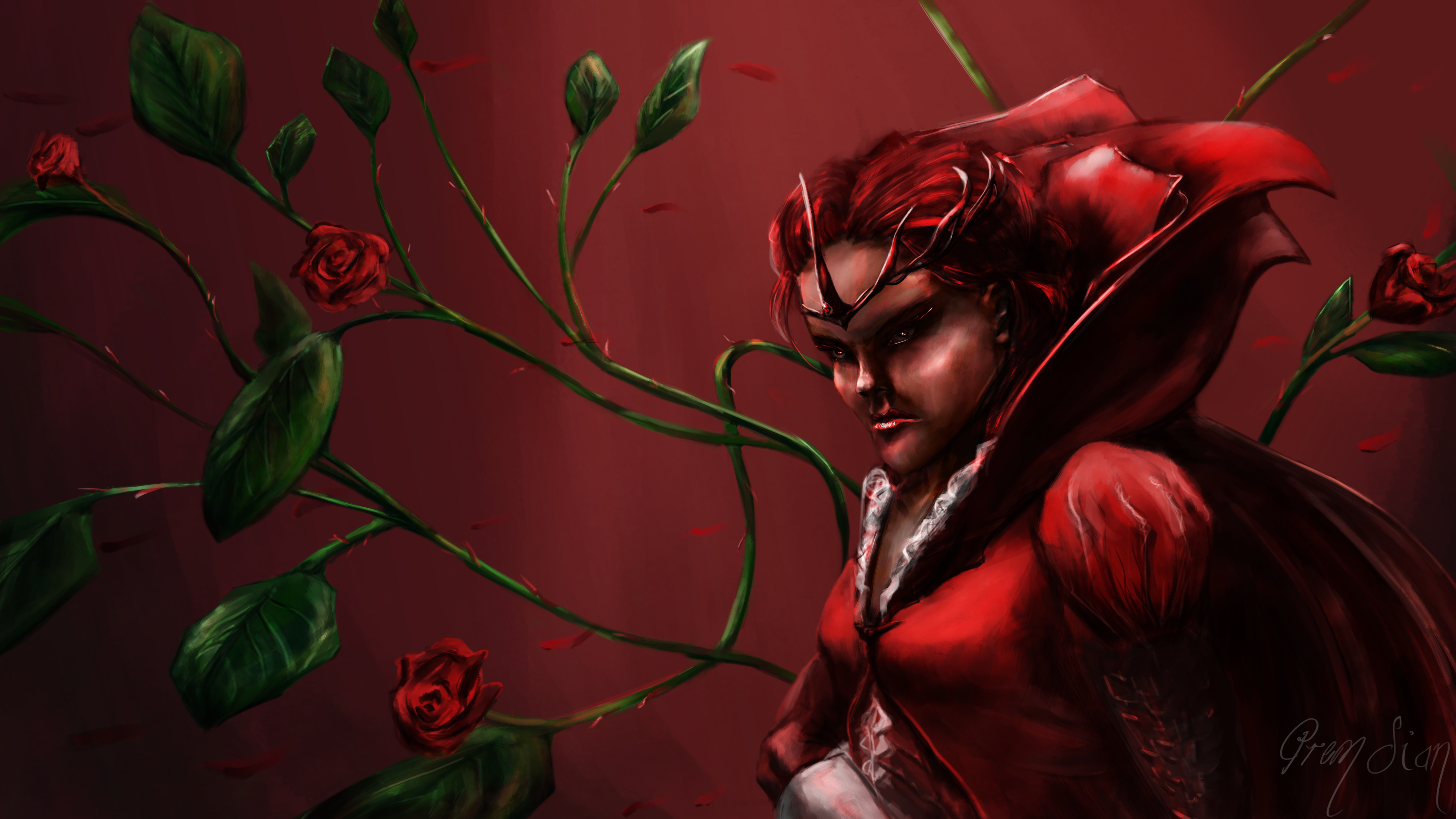 The Blood Red Rose's Thorn