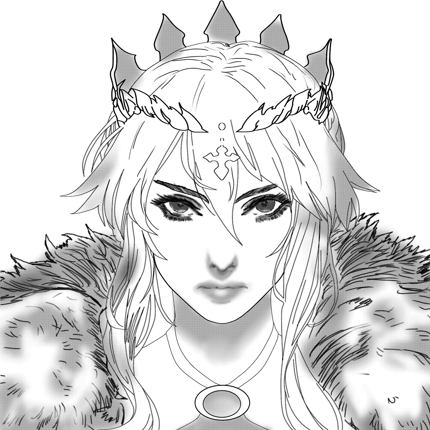 Erynia - Qween of Skyland [Portrait]