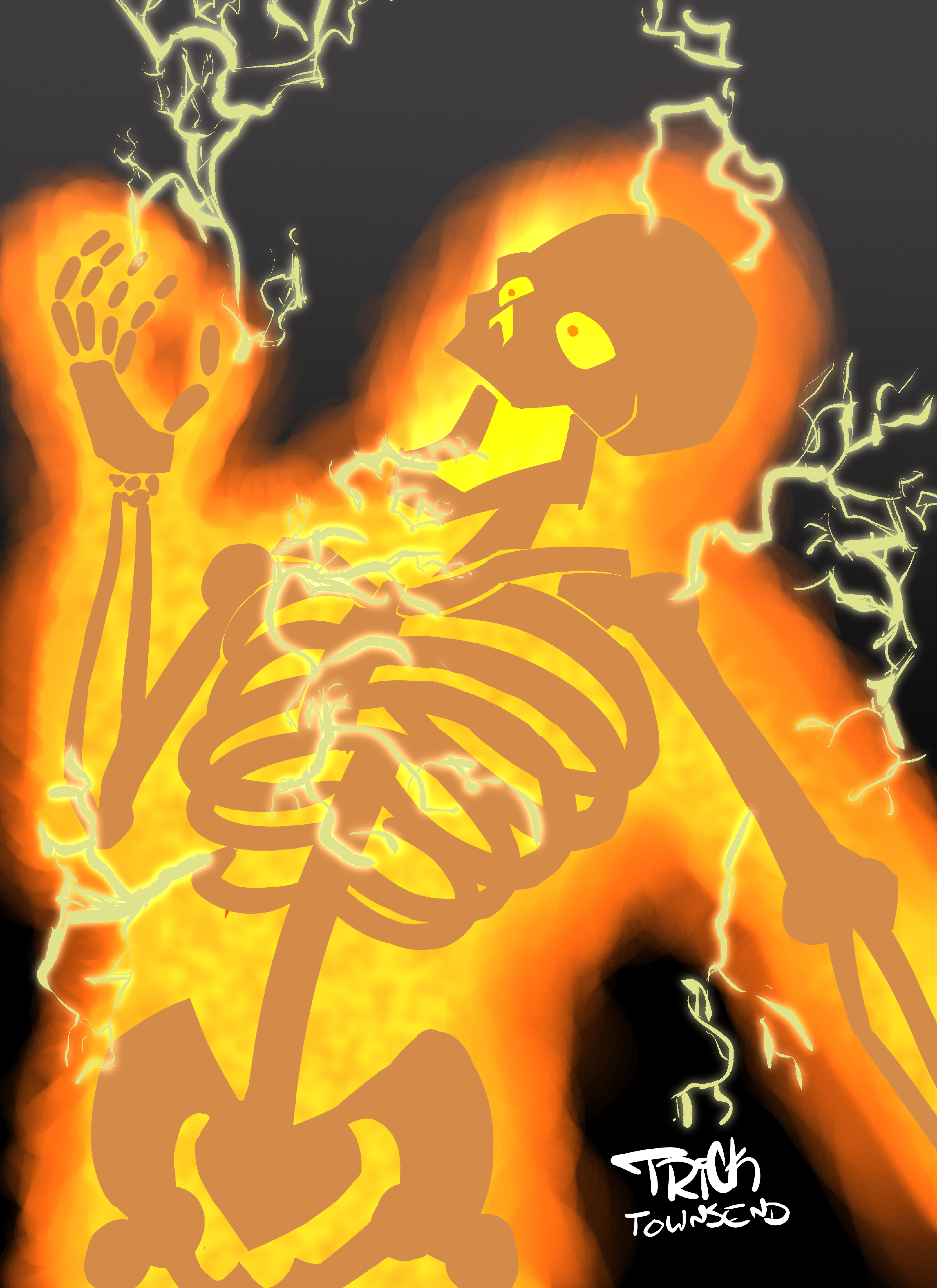 Scary Scooby: 10000 Volt Ghost by TrickTownsend on Newgrounds