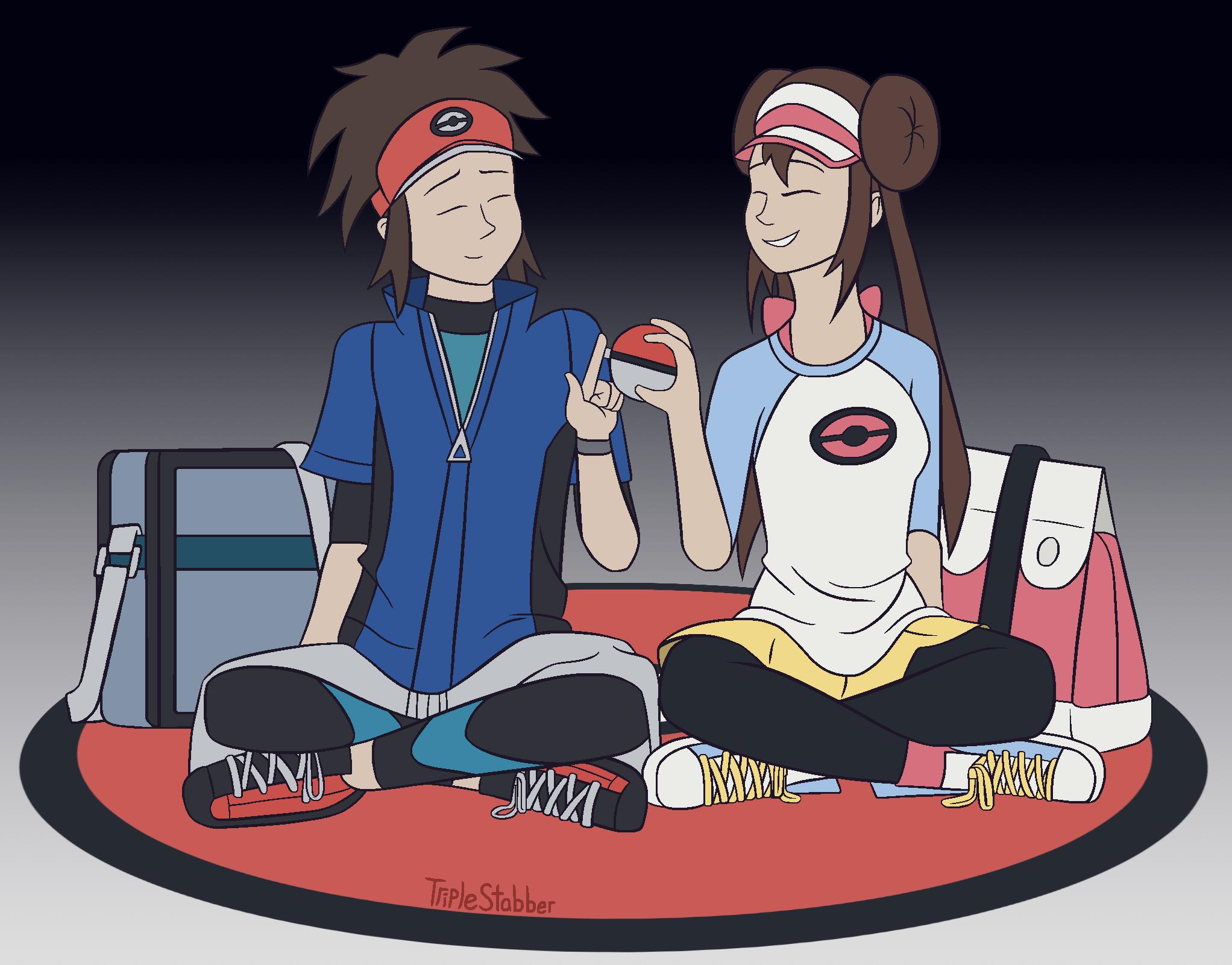 Pokemon Nate And Rosa