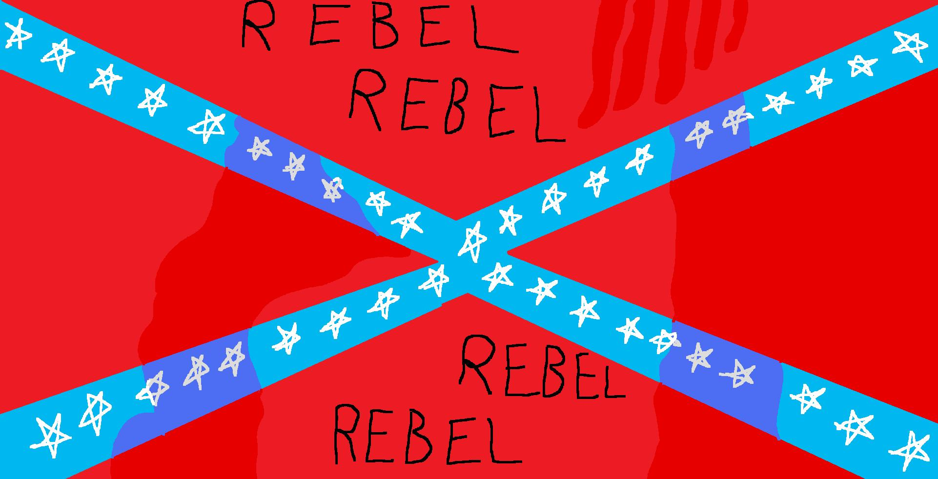 Rebel flag!