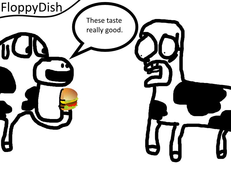 Cows (FloppyDish Comic)