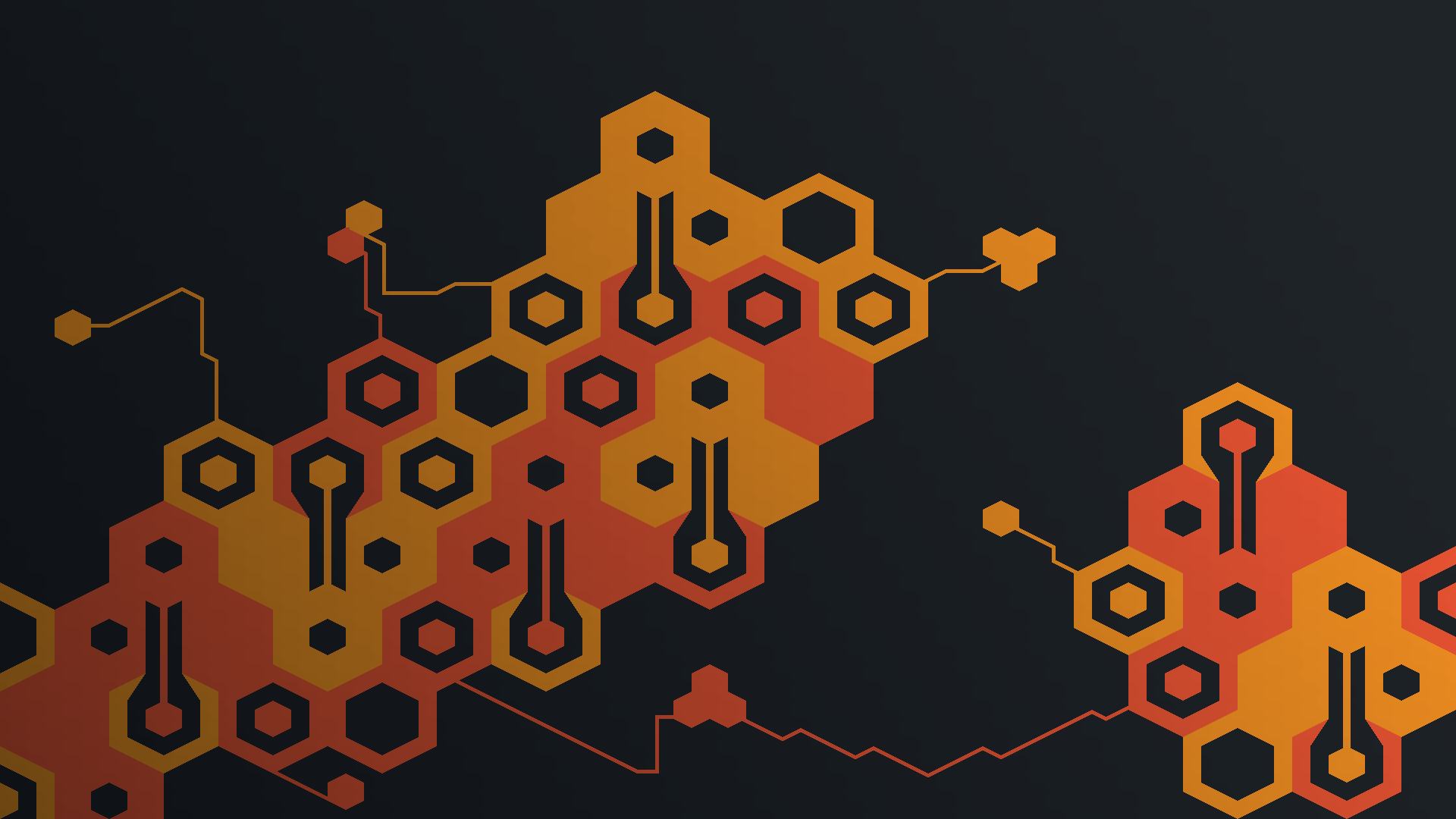 ludum dare 42 honeycomb circuit wallpaperxuelder on newgrounds