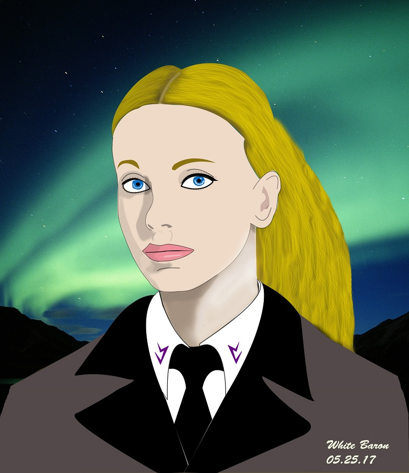 Vril Maiden, Maria Orsic - Drawn By The White Baron