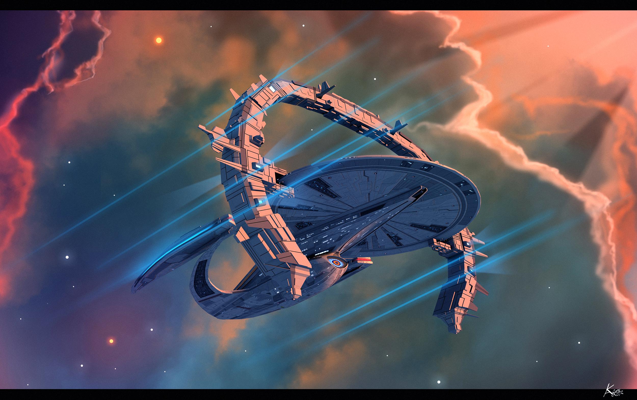 Phase 2 galaxy class dreadnought -Steinmetz reign