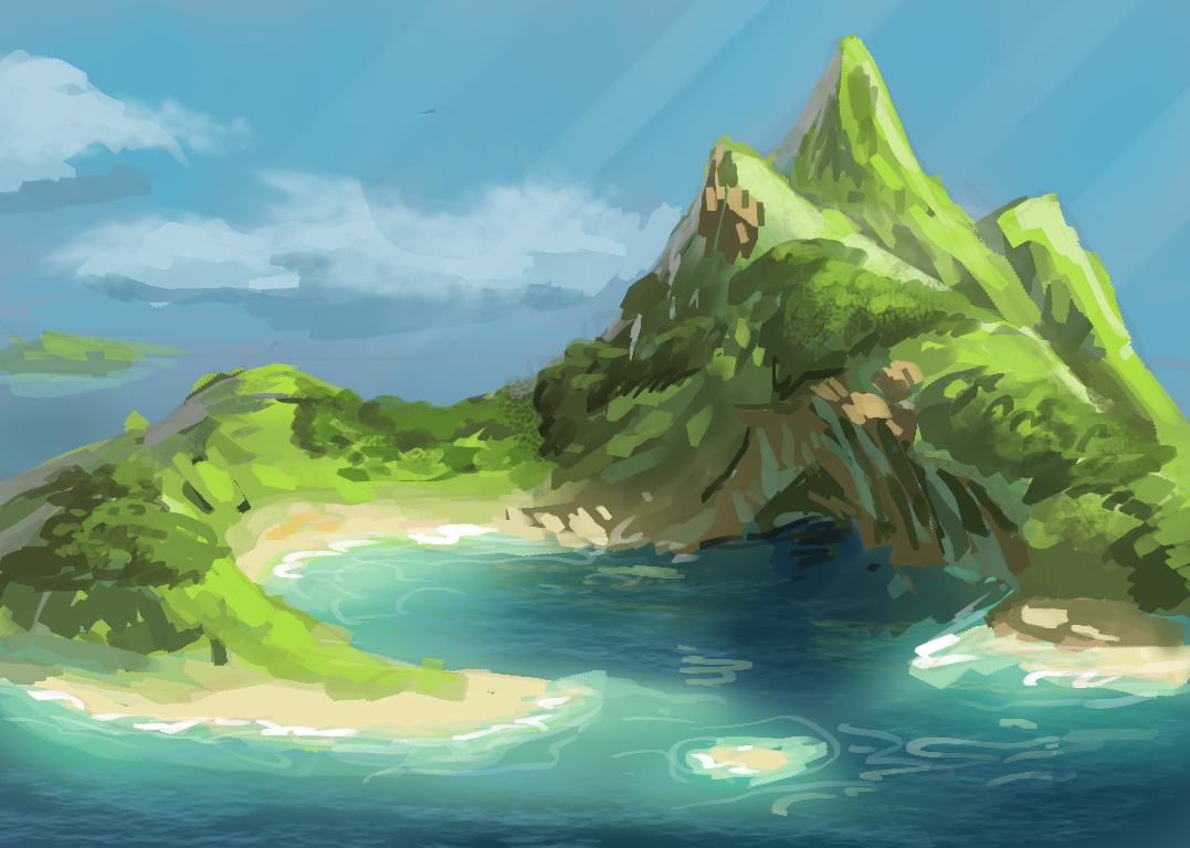 30 minute speedpaint - Sheltered harbor
