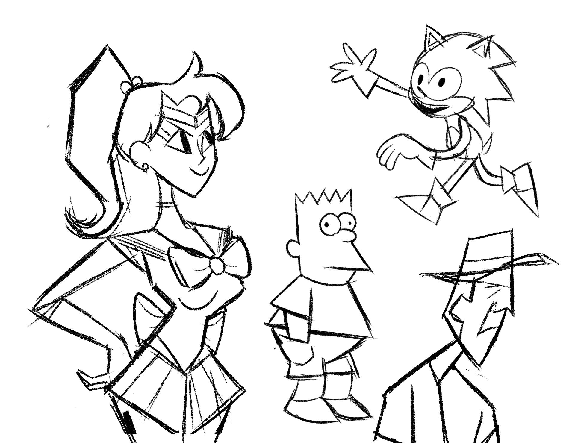 weird sketches