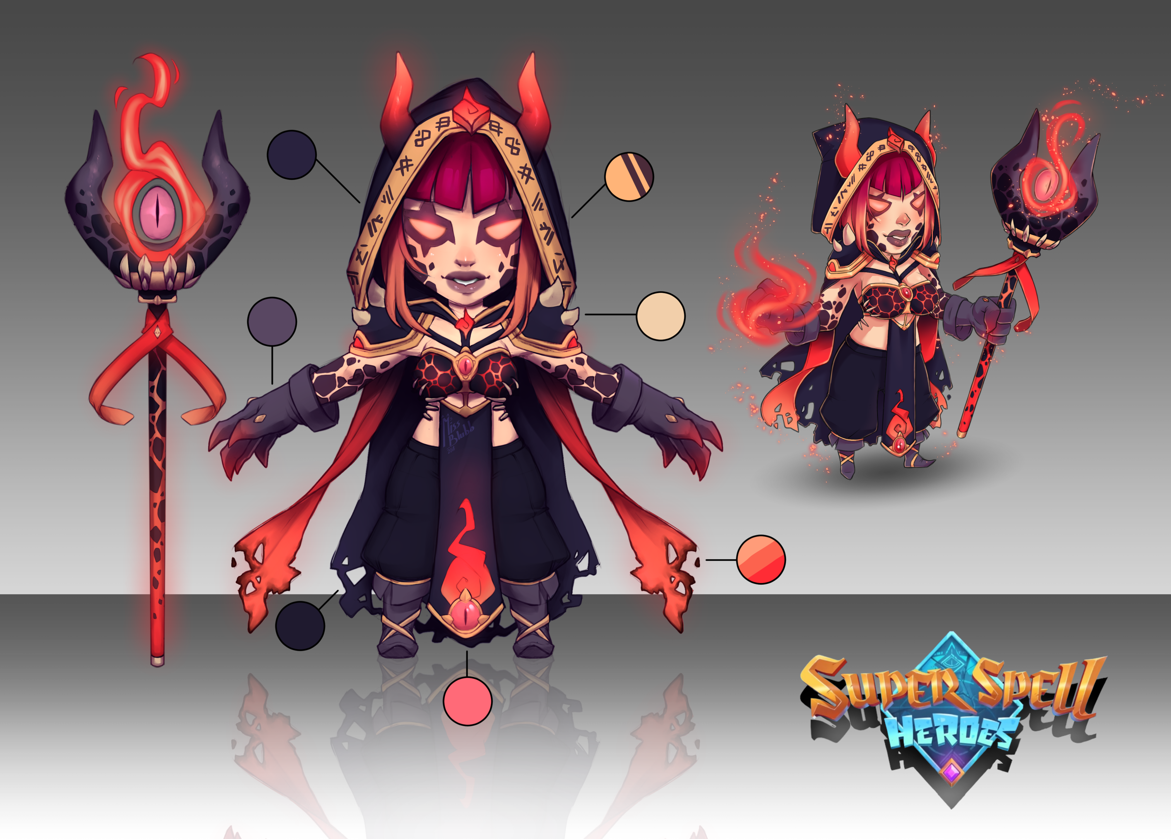 SuperSpellHeroes outfit design by MissBlubb on Newgrounds