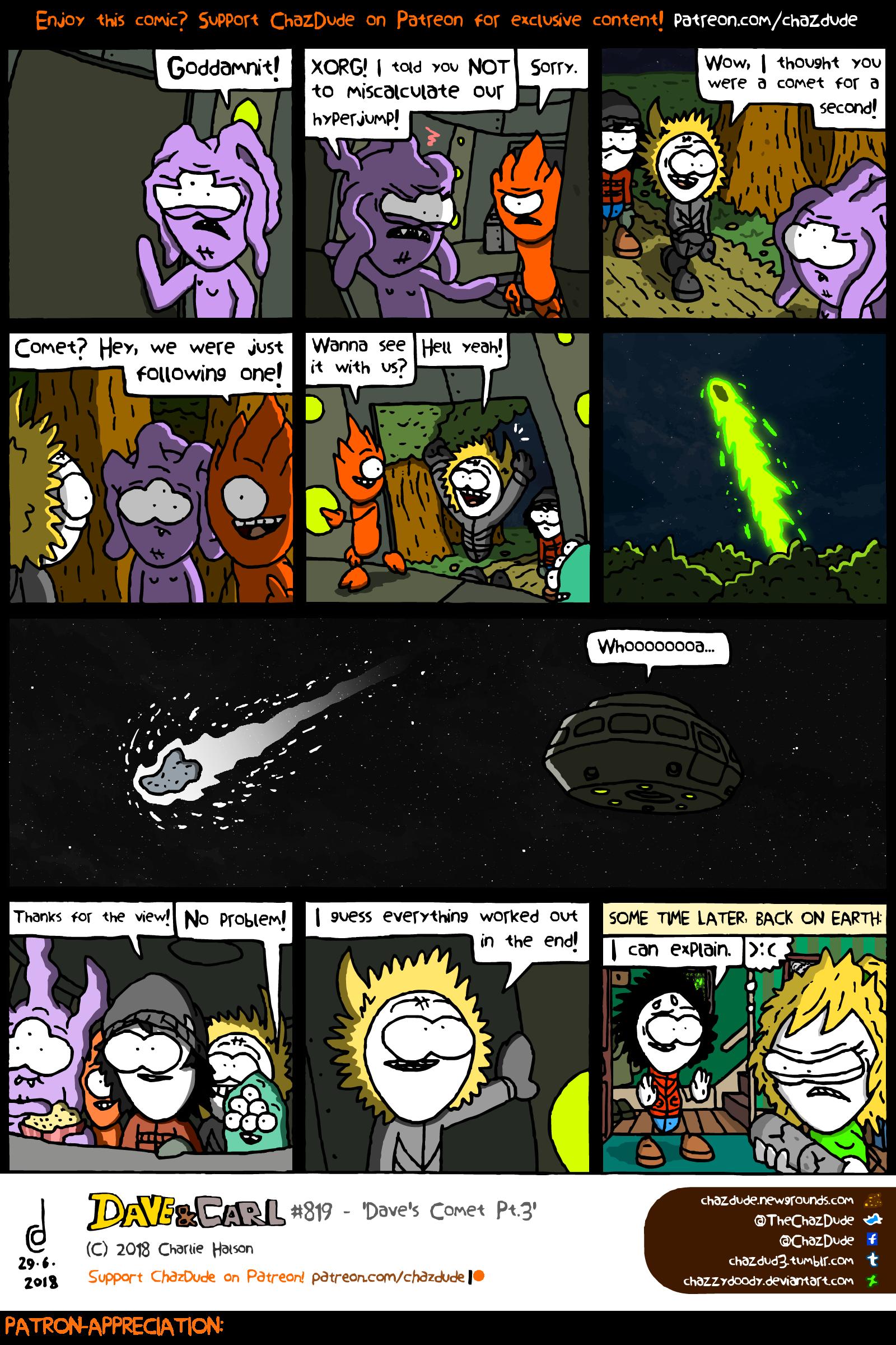 Dave's Comet Pt.3