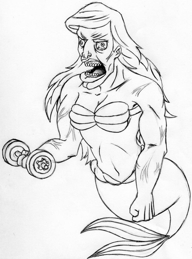 Arielle the mermaid