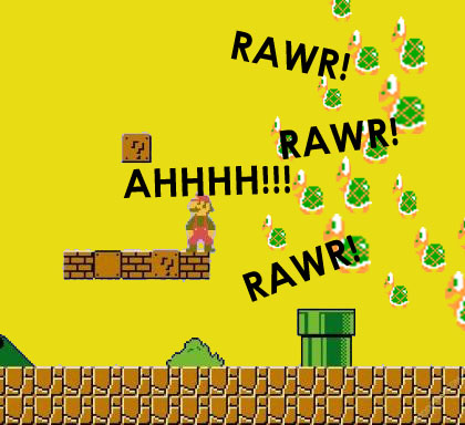 Attack of the koopas